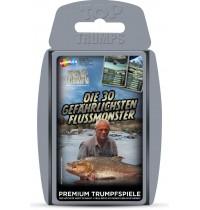 Winning Moves - Top Trumps - Die 30 gefährlichsten Flussmonster
