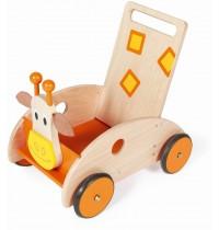 Scratch - Lauflernwagen Giraffe