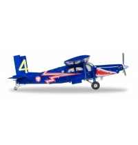 Herpa Wings - Austrian Air Force Pilatus PC-6 Turbo Porter - 4. Flächenstaffel
