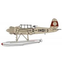 Herpa Wings - Arado AR196 D-IHQI Prototype 1938 (ohne Hakenkreuz)