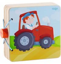 HABA - Holz-Babybuch Traktor