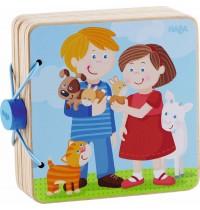 HABA - Holz-Babybuch Tierkinder