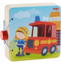 HABA - Holz-Babybuch Feuerwehr