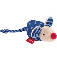 sigikid - Red Stars - Rassel Maus blau