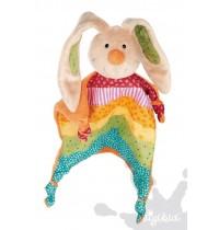 sigikid - Baby Gifts - Rainbow Rabbit Schnuffeltuch