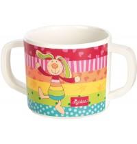 sigikid - Melamin Tasse Rainbow Rabbit