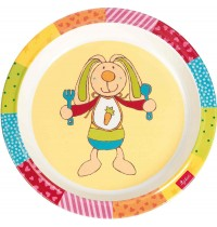 sigikid - Melamin Teller Rainbow Rabbit