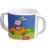 sigikid - Melamin Tasse Racing Rabbit