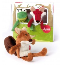 sigikid - Soft and Play - Fingerpuppenset Waldfreunde