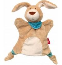 sigikid - Handpuppe-Schnuffeltuch Hase