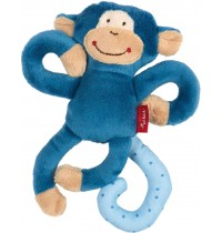 sigikid - Newborn Activity - Anhänger Affe, blau