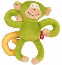 sigikid - Newborn Activity - Anhänger Affe, grün