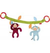 sigikid - Newborn Activity - Wagenkette Affenbande