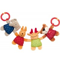 sigikid - Newborn Activity - Wagenkette Tiere