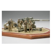Tamiya - 1:35 Wwii Dt. 88mm Flak36 Nord Afri