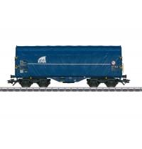 H0 1:87 Schiebeplanenwagen Shimmns - ERR Eurotrain Sonderwagen Hersteller: Märklin