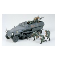 1/35 Hanomag Sd.Kfz.251/1 Hersteller: Tamiya + 5 Figuren