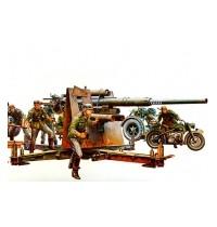 1/35 Dt. Flak 8,8 36/37 Hersteller: Tamiya + 9 Figuren