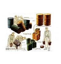 1/35 Kanister + Fässer Hersteller: Tamiya 68 Teile