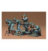1/35 Dt. MG-Trupp Hersteller: Tamiya 7 Figuren