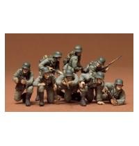 1/35 Dt. Panzergrenadiere Hersteller: Tamiya 8 Figuren