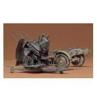 1/35 Dt. 2cm Flakvierling 38 Hersteller: Tamiya & Sd. Anhänger 52