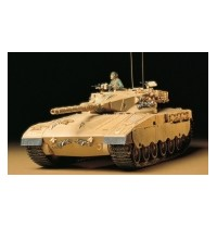 1/35 Israel. MBT Merkawa Hersteller: Tamiya + 1 Figur