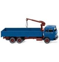 Wiking - Hochbordpritschen-Lkw MB LP 2223 - azurblau
