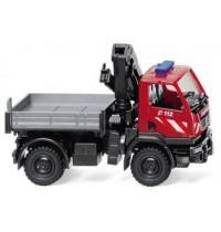 Wiking - Feuerwehr - Unimog U 20 mit Ladekran