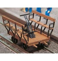 H0 1:87 Handhebeldraisine Bausatz Hersteller: Weinert