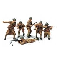 Tamiya - 1:35 Wwii Fig-set Franz. Infanterie