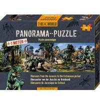 Die Spiegelburg - Panoramapuzzle T-Rex World, 250 Teile