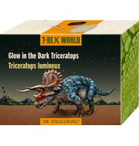 Die Spiegelburg - Glow in the Dark Triceratops  T-Rex World