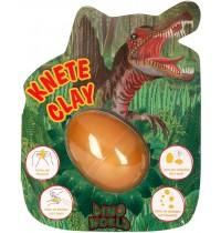Depesche - Dino World - Spring Knete im Ei  mit Flashkugel