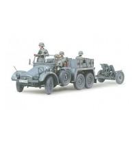 1/35 Krupp Protze Towing Truc Hersteller: Tamiya + 3,7 Pak 35/36
