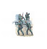 1/35 Dt. PzGren WWII 4 Fig. ZVEZDA