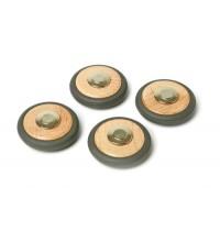 Tegu - Magnetische Räder, 4-teilig