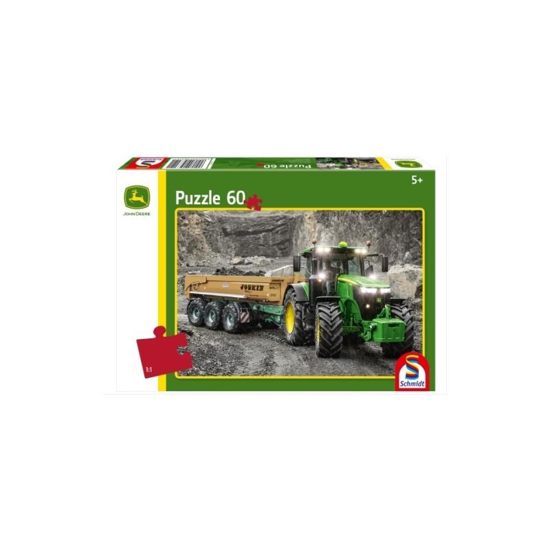 Schmidt Spiele Puzzle John Deere Traktor 7310r 60 Teileschmidt