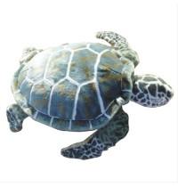 Meeresschildkröte grün-beige,