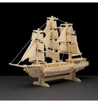 Holzb. Segelschiff 80T.
