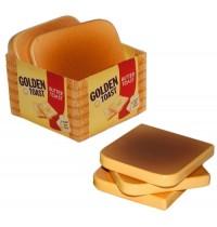 Golden Toast Scheiben