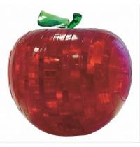 3D Crystal Puzzle, Apfel