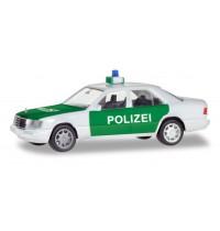 MB E-Klasse, Polizei