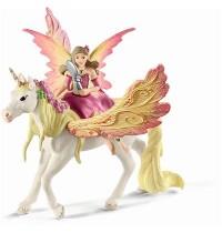 Schleich - World of Fantasy - Bayala - Feya mit Pegasus-Einhorn