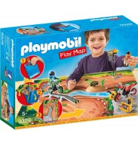 Playmobil® 9329 - Play Map - Motocross