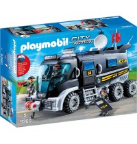 Playmobil® 9360 - City Action - SEK Truck mit Licht und Sound