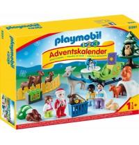 Playmobil® 9391 - Christmas - 1.2.3 Adventskalender Waldweihnacht der Tiere