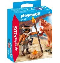 Playmobil® 9442 - Special Plus - Neandertaler mit Säbelzahntiger
