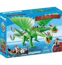 Playmobil® 9458 - Dragons - Raffnuss und Taffnuss mit Kotz und Würg