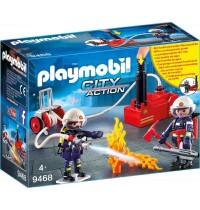 Playmobil® 9468 - City Action - Feuerwehrmänner mit Löschpumpe
